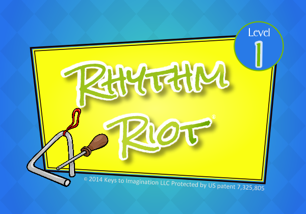 Rhythm Riot Level 1 Title