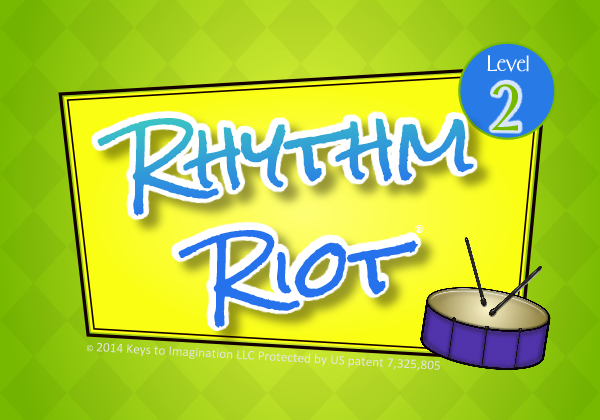 Rhythm Riot Level 2 Title