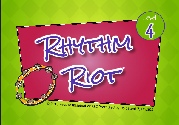 Rhythm Riot Level 4 Title