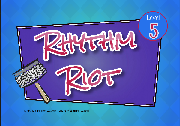 Rhythm Riot Level 5 Title