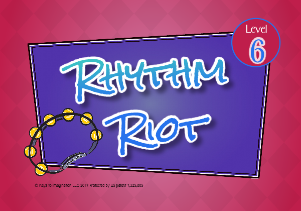 Rhythm Riot Level 6 Title
